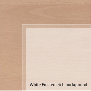 Frosted Etch Background