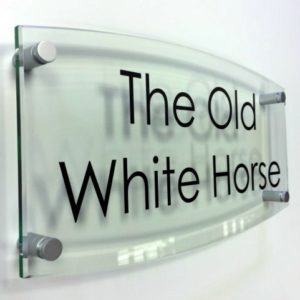 Glass House Sign