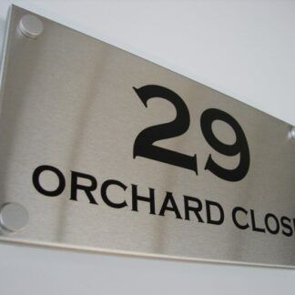 Stainless Steel Signs