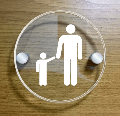 parent-and-child-sign