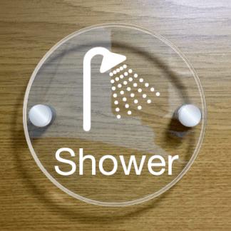 shower-door-sign