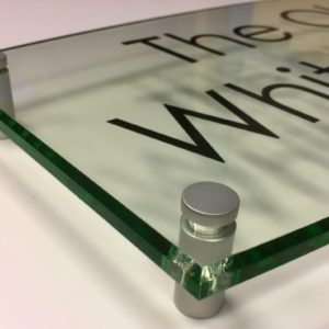 Glass Signs
