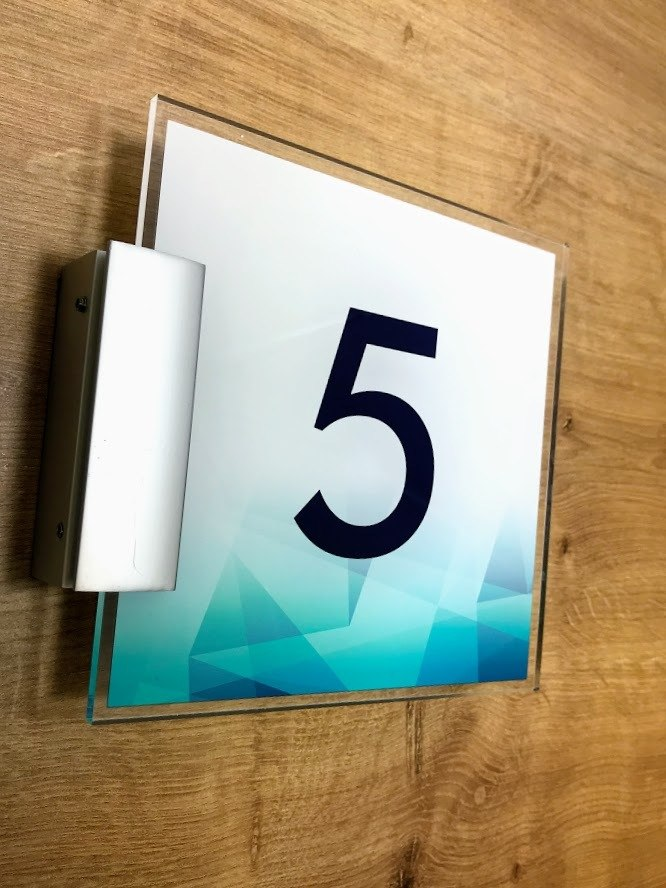 Apartment Number Signs For Property Developers